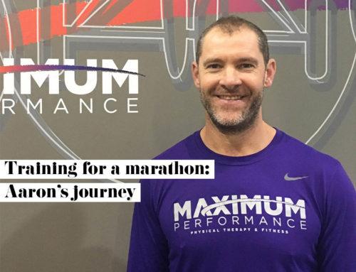 Training for a Marathon: Aaron's Journey